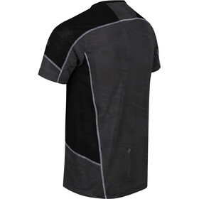 Regatta Camito Camiseta Hombre, magnet/black